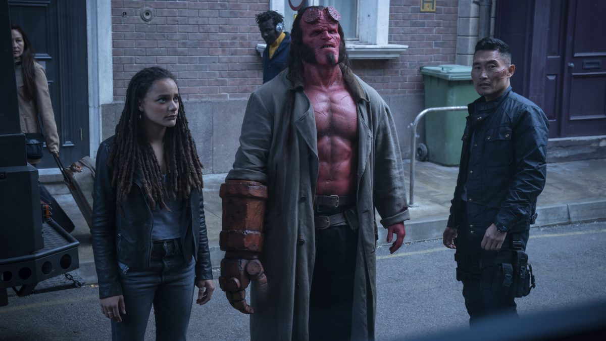 HELLBOY, de Neil Marshall – primeiros looks