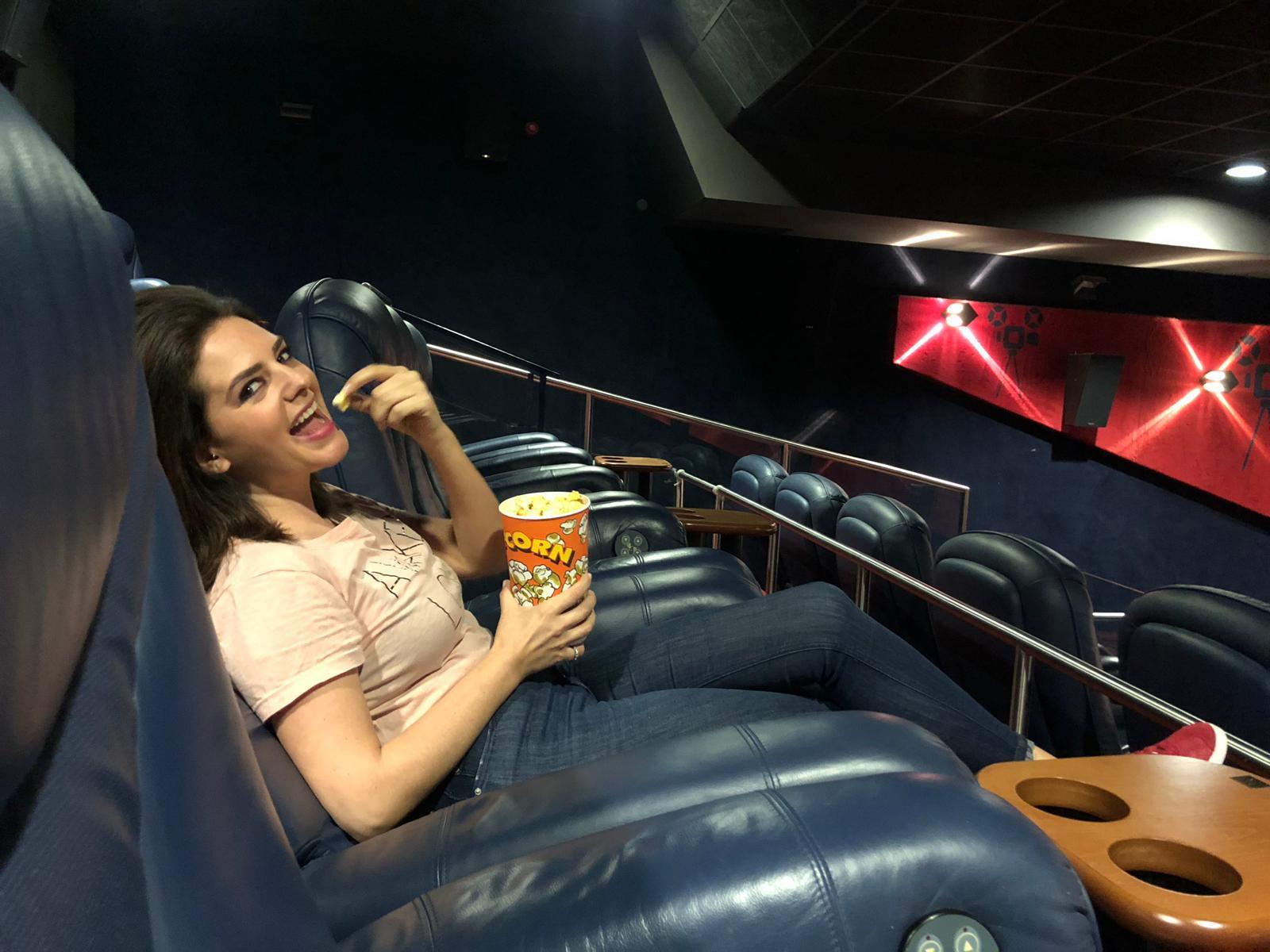 Entrevistas vip na sala Vip dos cinemas city