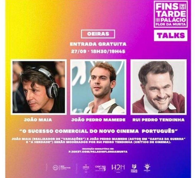 Entrada livre | Debate sobre cinema nacional com João Maia e João Pedro Mamede