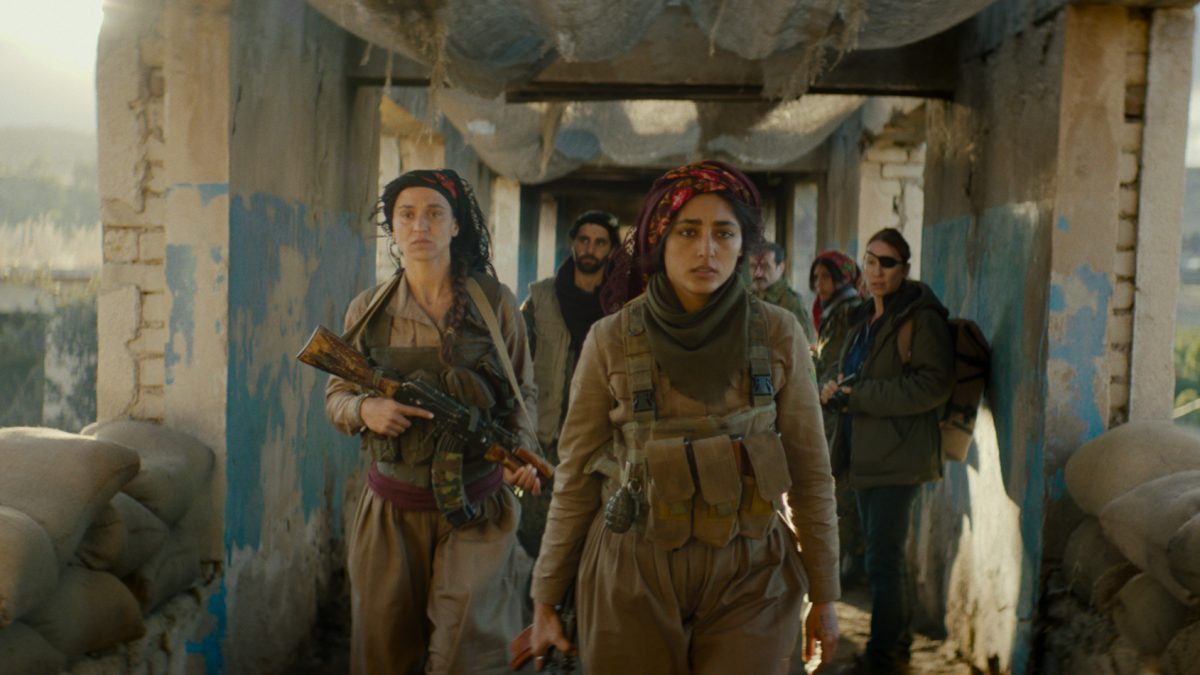Entrevista Golshifteh Farahani, do filme AS FILHAS DO SOL