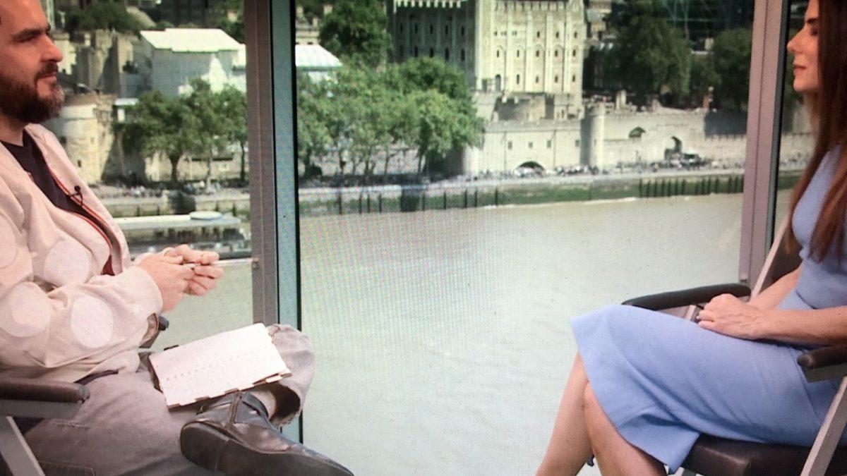 Sandra Bullock inaugura nova secção no Cinetendinha