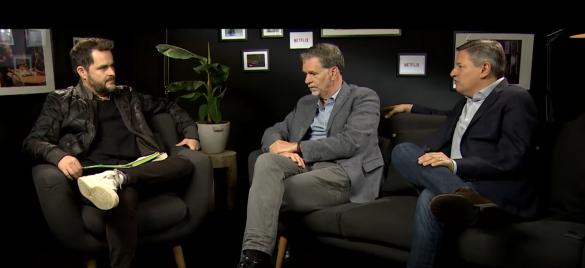 Cinetendinha com entrevista aos mandões da Netflix