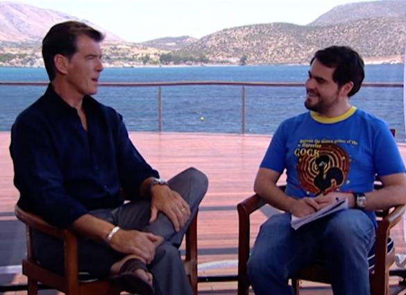 Cintendinha TV- Encontro com o Pierce Brosnan