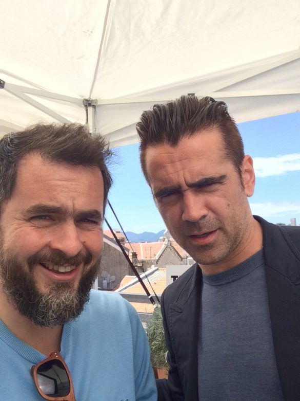 Colin Farrell, o rapaz do sotaque reconfortante