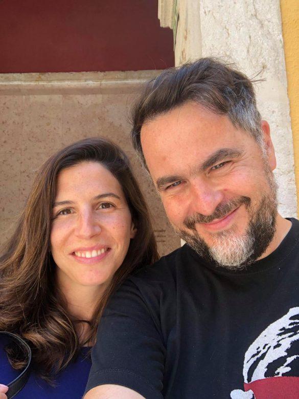 Selfie-entrevista com Cleia Almeida