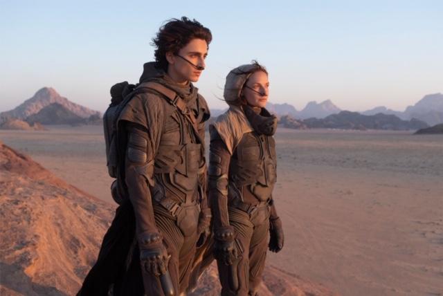 Dune adiado- Hollywood desistiu dos cinemas este ano