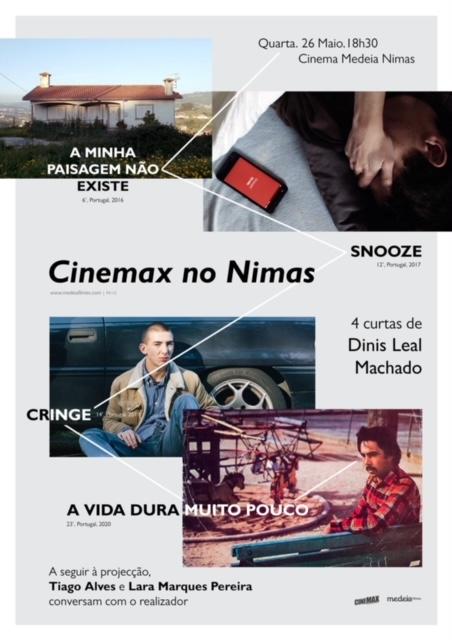 Curtas boas no Nimas! Cortesia Cinemax…
